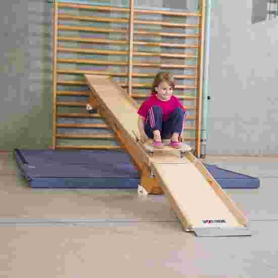 "Sport-Thieme ""Flizzer"" Roller Board Track For the 3-m gymnastics bench"
