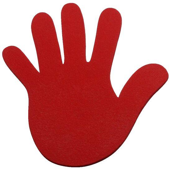 Sport-Thieme Floor Marker Hands, 18 cm, Red