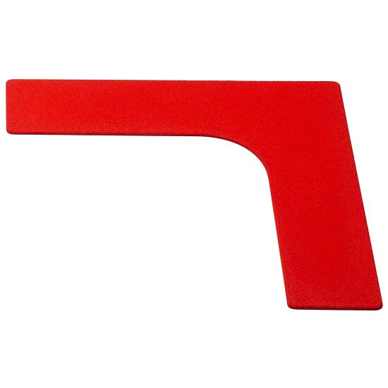 Sport-Thieme® Floor Markers Corner, 26 cm, Red