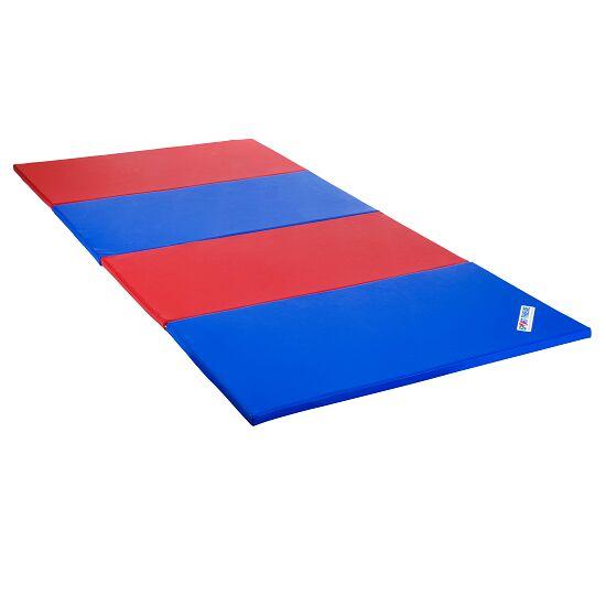 Sport-Thieme® Folding Mat 240x120x3 cm, Blue-Red