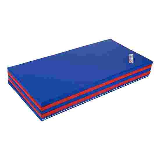 Sport-Thieme Folding Mat 300x120x3 cm, Blue/red
