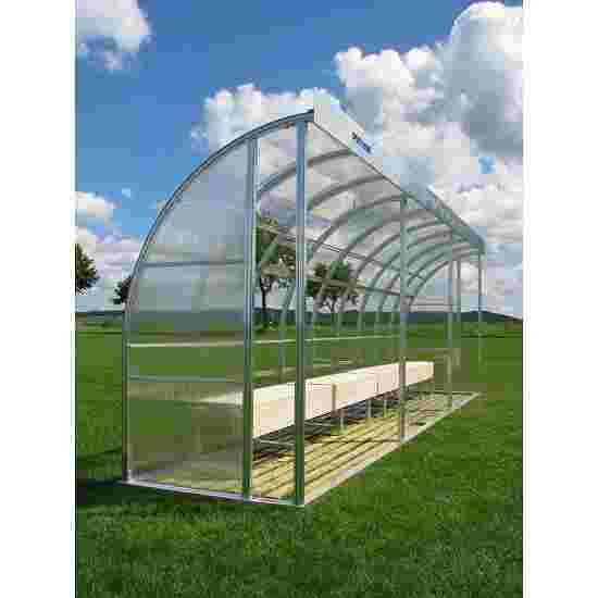 Sport-Thieme for 13 People Dugout Polycarbonate, Bench