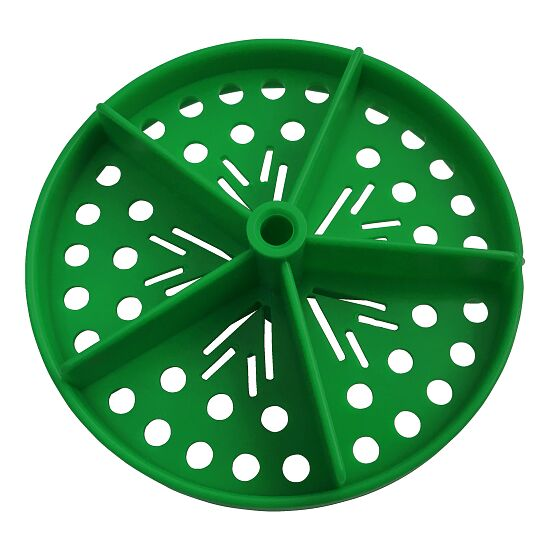 "Sport-Thieme® Full Perforated Disc for ""Competition"" Swimming Lane Lines Green"