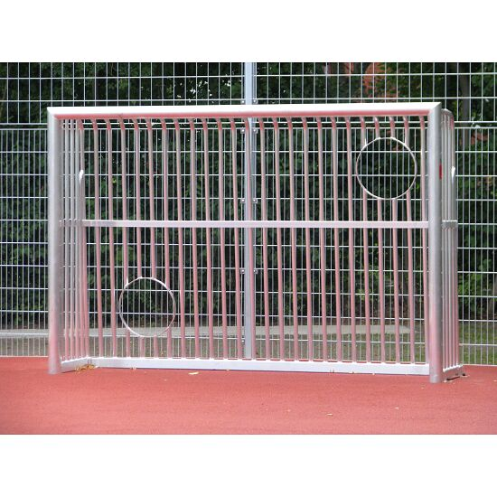 Sport-Thieme Fully Welded Leisure Goal with Target Cut-Outs square frame 80 x 80 mm, 300x200x60 cm
