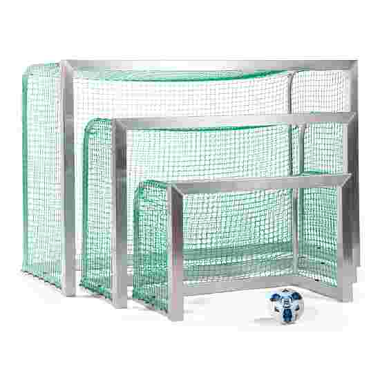 Sport-Thieme Fully Welded Mini Football Goal 1.20×0.80 m, goal depth 0.70 m, Incl. net, green (mesh width 4.5 cm)