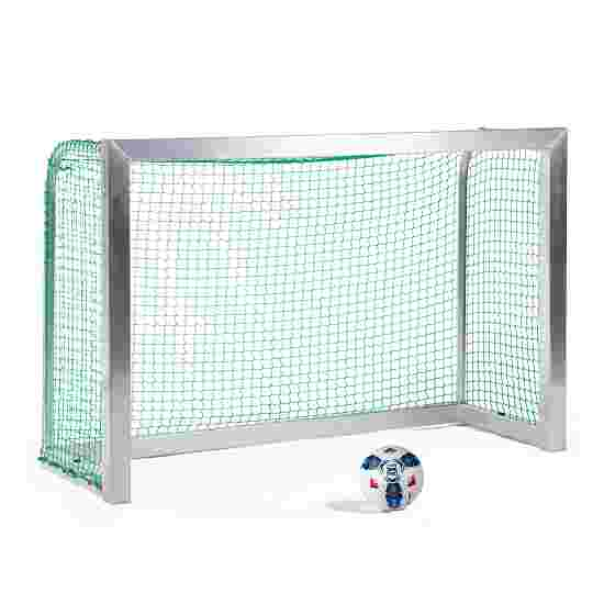 Sport-Thieme Fully Welded Mini Football Goal 1.80×1.20 m, goal depth 0.70 m, Incl. net, green (mesh width 4.5 cm)
