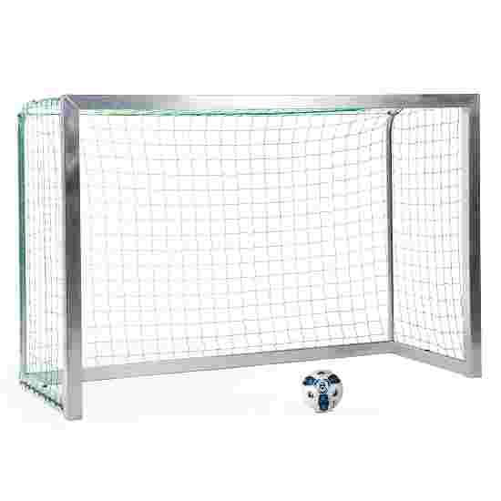 Sport-Thieme Fully Welded Mini Football Goal 2.40×1.60 m, goal depth 1.00 m, Incl. net, green (mesh width 10 cm)