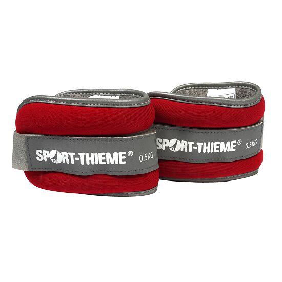 """Sport-Thieme Gewichtsmanschetten """"Premium"""" 0,5 kg, Rot"""