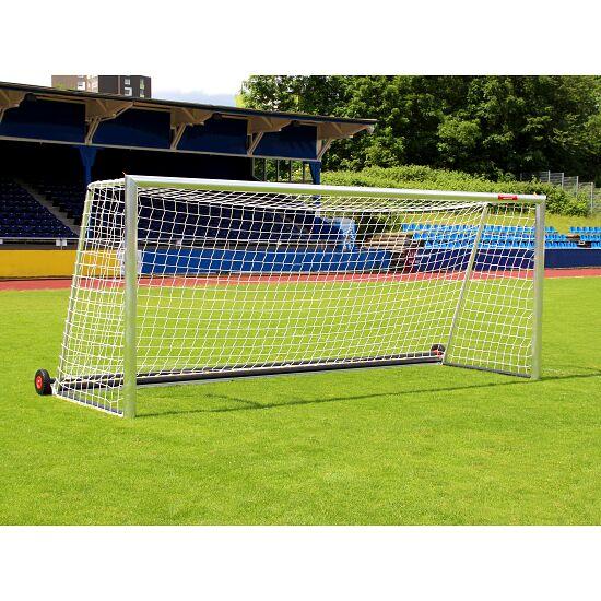 """Sport-Thieme® Großfeld-Fußballtor """"Safety"""", vollverschweißt mit PlayersProtect Bodenrahmen und Netzbefestigung SimplyFix"""