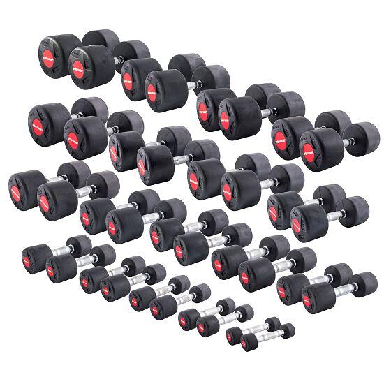 Sport-Thieme® Gummi-Kompakthantel Set 1–30 kg