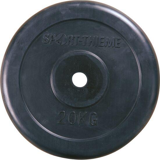 Sport-Thieme® Gummierte Hantelscheibe 20 kg