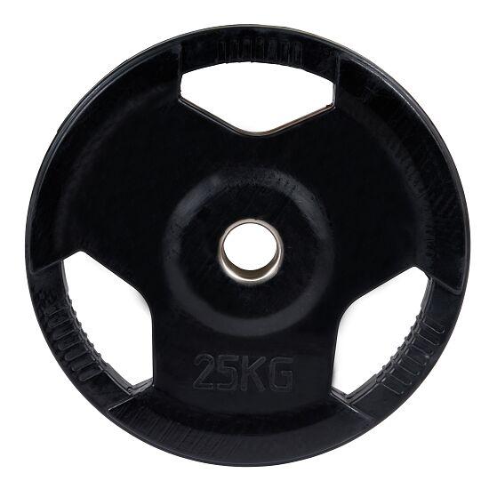 Sport-Thieme Gummierte Wettkampf-Hantelscheiben 50 mm 25 kg