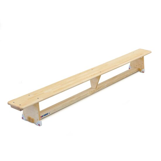 "Sport-Thieme Gymnastics Bench ""Original"" 3.5 m, DIN 7909, Without castors"