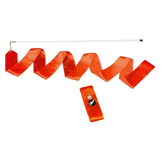 Sport-Thieme Gymnastics Ribbon Competition, 6 m long, Orange