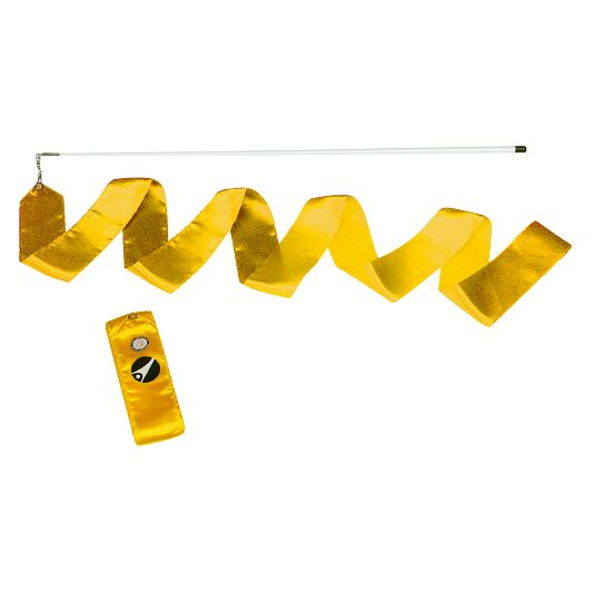 Sport-Thieme Gymnastics Ribbon Competition, 6 m long, Yellow