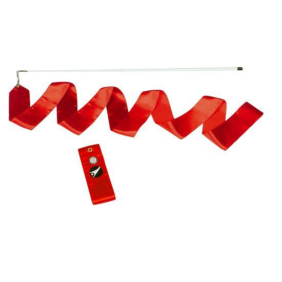 Sport-Thieme® Gymnastik-konkurrence-vimpel med stav Konkurrence, L: 6 m, Rød