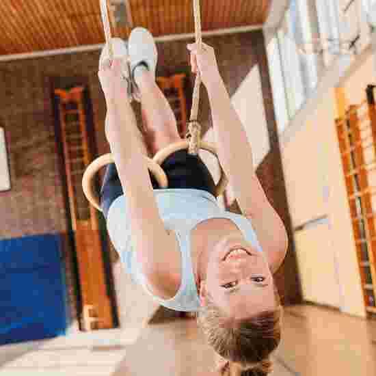 Sport-Thieme Gymnastik- og Gyngeringe-garniture til gymnastikhaller
