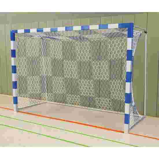 Sport-Thieme Håndboldmål 3x2 m, fritstående med faststående netbøjler Sammenskruede hjørner, Blå-sølv