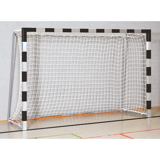 Sport-Thieme Håndboldmål 3x2 m. I bøsninger Sammenskruede hjørner, Sort-sølv