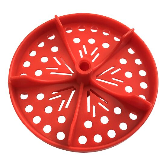 """Sport-Thieme® Half Perforated Disc for """"Competition"""" Swimming Lane Lines Red"""