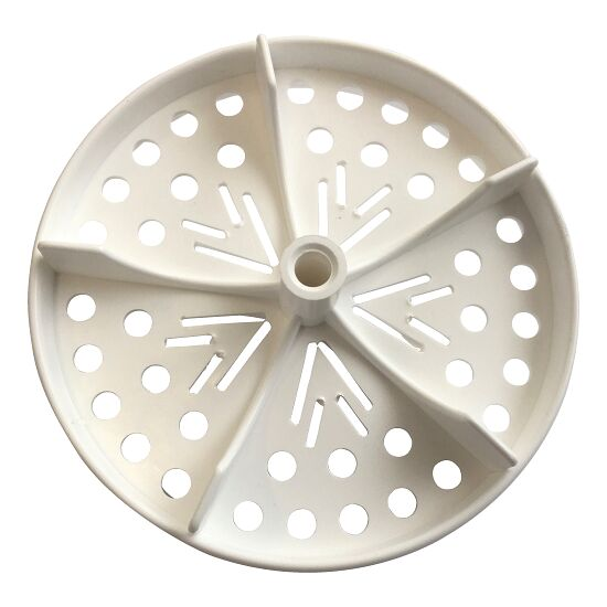"""Sport-Thieme® Half Perforated Disc for """"Competition"""" Swimming Lane Lines White"""