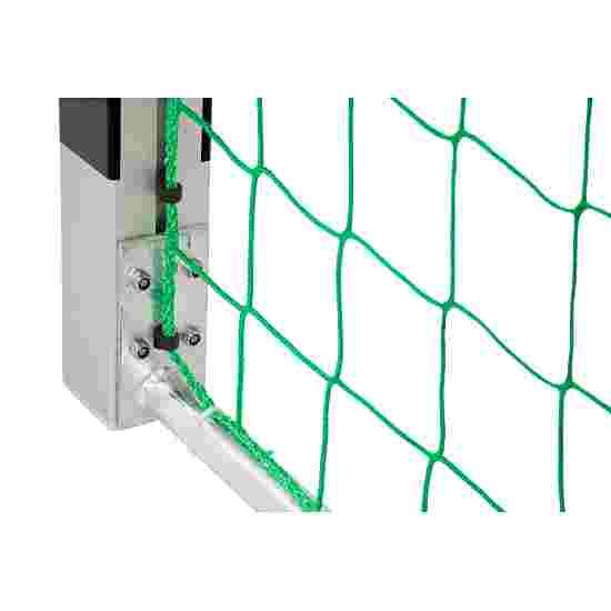 Sport-Thieme Hallenhandballtor  3x2 m, frei stehend mit Premium-Stahl-Eckverbindung Mit feststehenden Netzbügeln, Schwarz-Silber