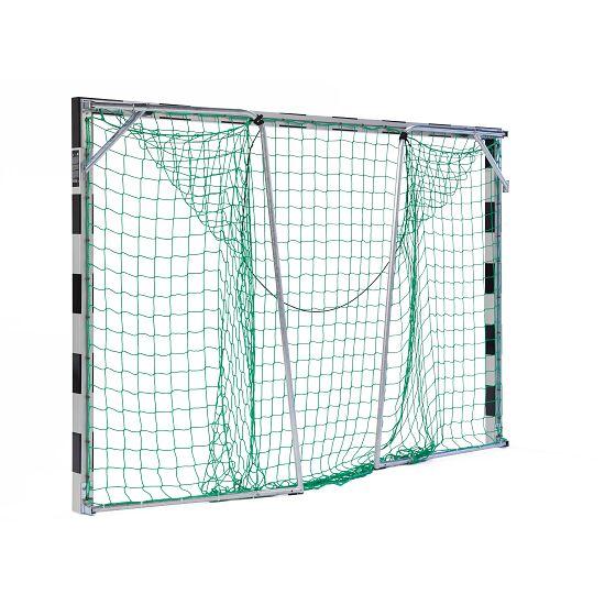 Sport-Thieme® Hallenhandballtor 3x2 m, frei stehend Verschraubte Eckverbindungen, Schwarz-Silber