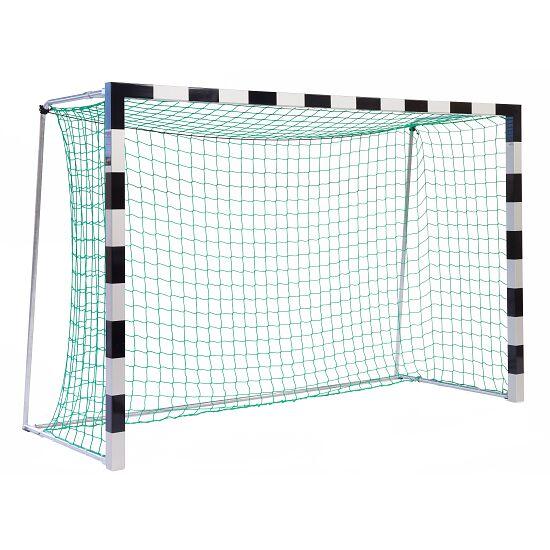 Sport-Thieme® Hallenhandballtor 3x2 m, frei stehend Verschweißte Eckverbindungen, Schwarz-Silber
