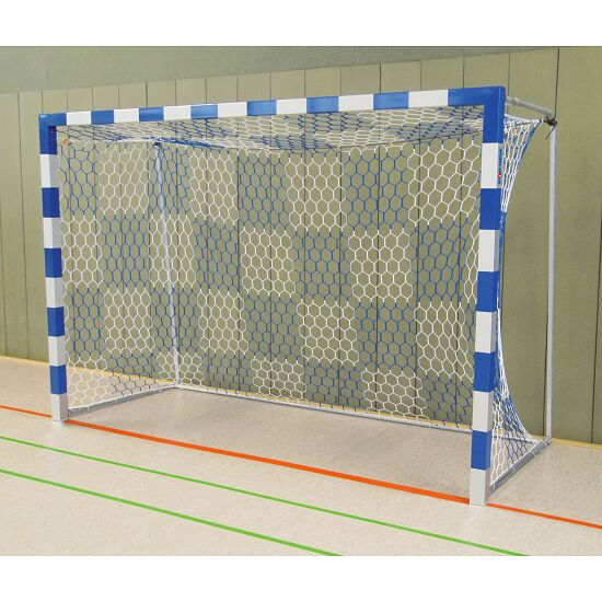 Sport-Thieme® Handball Goal, 3x2 m, Free-standing Bolted corner joints, Blue/silver