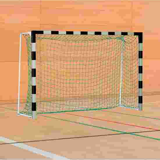 Sport-Thieme Handball Goal with Fixed Net Brackets IHF, goal depth 1 m, Black/silver