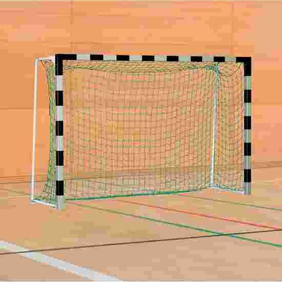 Sport-Thieme Handball Goal with Fixed Net Brackets Standard, goal depth 1 m, Black/silver