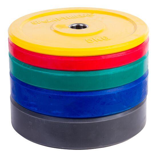 """Sport-Thieme® Hantelscheibe """"Bumper Plate"""", bunt 5 kg, Gelb"""