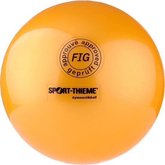 "Sport-Thieme® Hochglänzender Wettkampf-Gymnastikball ""420"" Gelb"