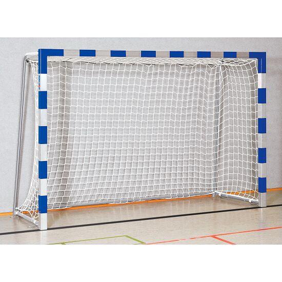 Sport-Thieme® Indendørs Håndboldmål 3x2 m. i bøsninger Sammenskruede hjørner, Blå-sølv