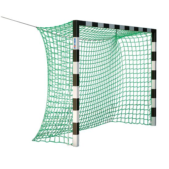 Sport-Thieme® Indendørs håndboldmål 3x2 m. uden netbøjler Rød-sølv