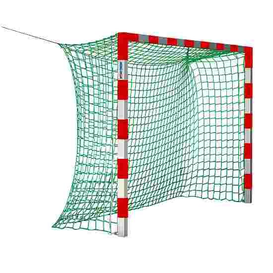 Sport-Thieme Indendørs håndboldmål 3x2 m. uden netbøjler Rød-sølv