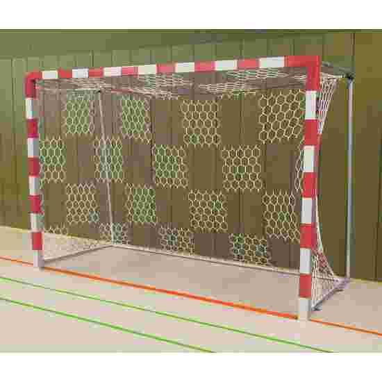 Sport-Thieme Indoor Handball Goal Welded corner joints, Red/silver