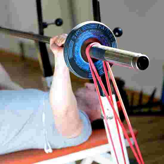 "Sport-Thieme ""Jumpstretch"" Powerband Red, low"