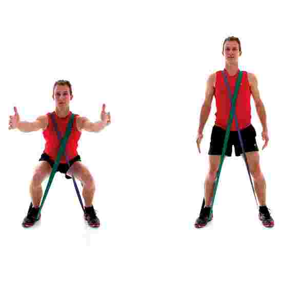 "Sport-Thieme ""Jumpstretch"" Powerband Orange, ultra-high"
