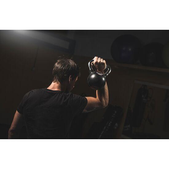 Sport-Thieme® Kettlebell gummiert mit glattem Chrom-Griff 8 kg