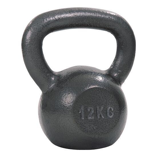 Sport-Thieme® Kettlebell Hammerschlag, lackiert, Grau 12 kg