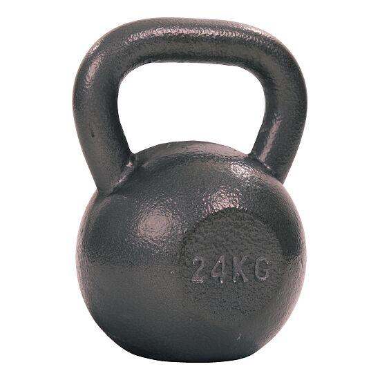 Sport-Thieme® Kettlebell Hammerschlag, lackiert, Grau 24 kg