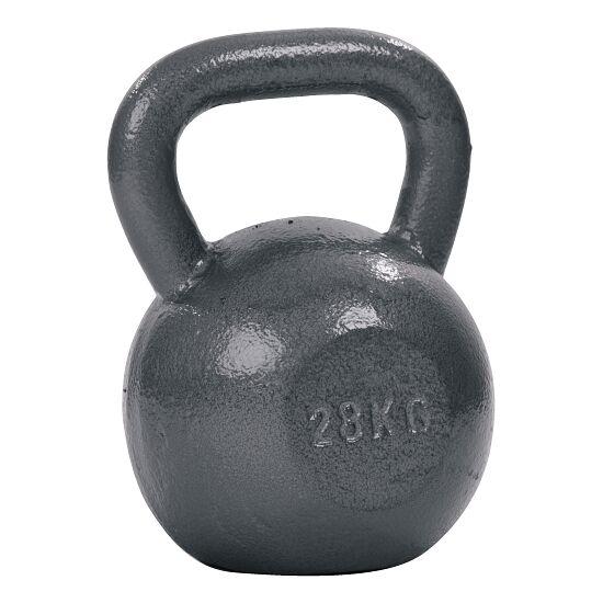 Sport-Thieme® Kettlebell Hammerschlag, lackiert, Grau 28 kg