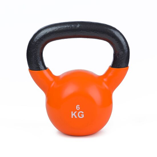 Sport-Thieme® Kettlebell Vinyl 6 kg, Orange