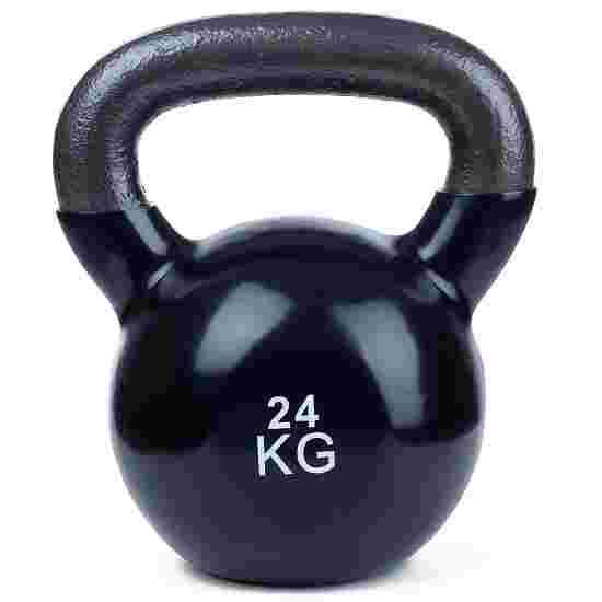 Sport-Thieme Kettlebell  Vinyl 24 kg, Schwarz