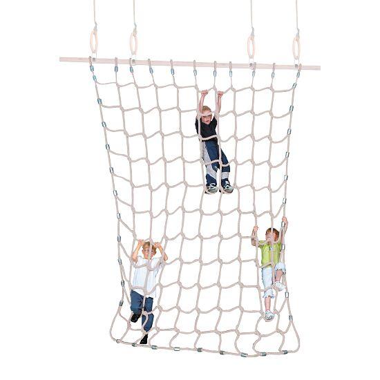 Sport-Thieme® Klatrenet Bløde fibre, naturfarvet, 3x2,5 m