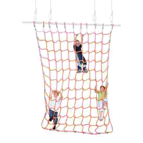 Sport-Thieme Klatrenet Polypropylen, Orange, 3x2,5 m