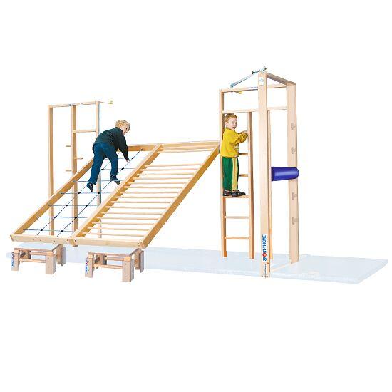 Sport-Thieme® Kombi Gymnastik-Klapvæg Uden fald-beskyttelses-måtter