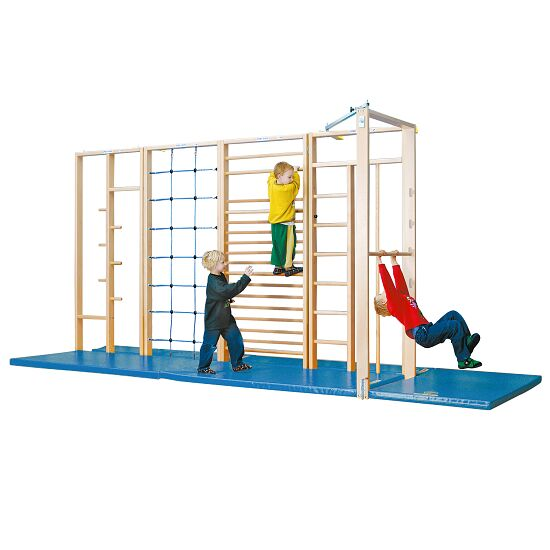 Sport-Thieme® Kombi Tilting Gymnastics Wall Fall protection mats not included
