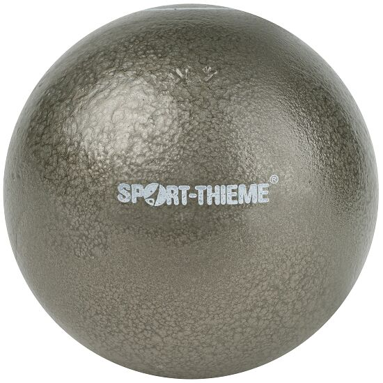 Sport-Thieme® Konkurrence-stødkugle, tareret 4 kg, Grå, ø 102 mm